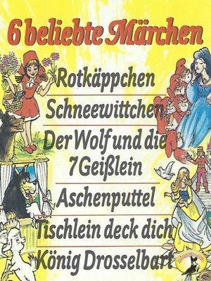 cover image of Gebrüder Grimm, 6 beliebte Märchen