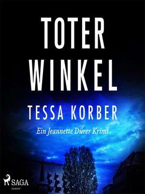 cover image of Toter Winkel--Ein Jeannette Dürer Krimi
