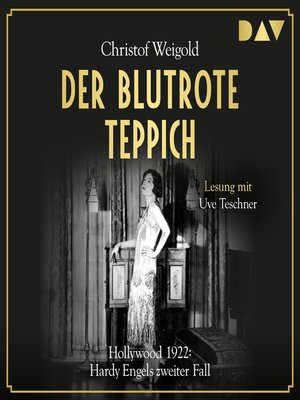 cover image of Der blutrote Teppich. Hollywood 1922