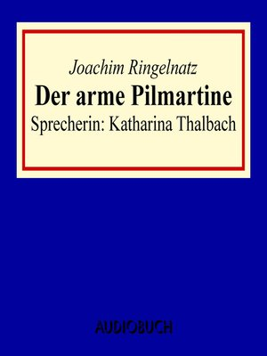 cover image of Der arme Pilmartine