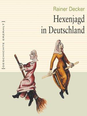 cover image of Hexenjagd in Deutschland