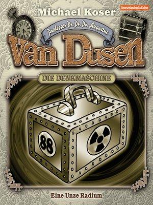 cover image of Professor van Dusen, Folge 1
