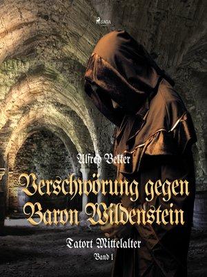 cover image of Verschwörung gegen Baron Wildenstein