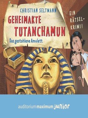 cover image of Geheimakte Tutanchamun--Das gestohlene Amulett--Ein Rätselkrimi