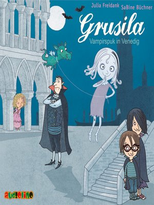 cover image of Grusila--Vampirspuk in Venedig