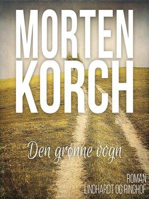cover image of Den grønne vogn