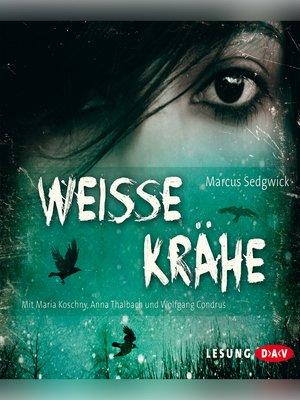 cover image of Weiße Krähe