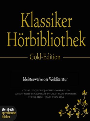 cover image of Die Klassiker Hörbibliothek--Gold Edition
