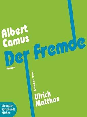 cover image of Der Fremde (Gekürzt)