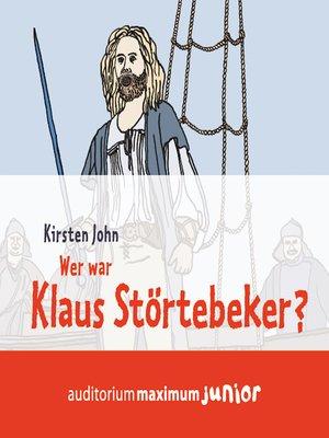 cover image of Wer war Klaus Störtebeker?