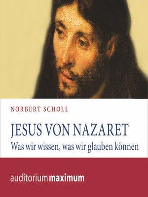 cover image of Jesus von Nazareth