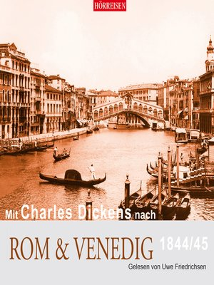 cover image of Mit Charles Dickens nach Rom & Venedig