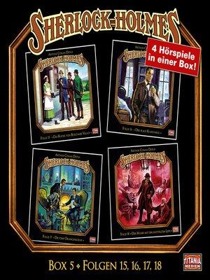 cover image of Sherlock Holmes--Die geheimen Fälle des Meisterdetektivs, Box 5