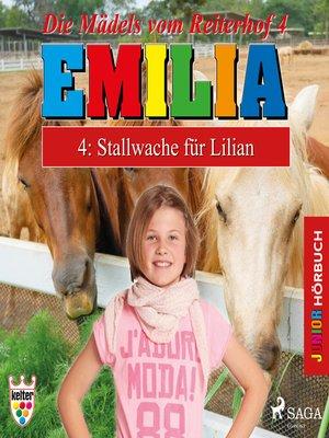 cover image of Emilia--Die Mädels vom Reiterhof, 4