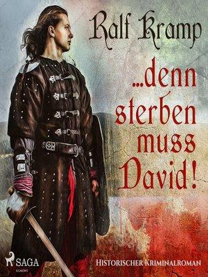cover image of ... Denn sterben muss David!