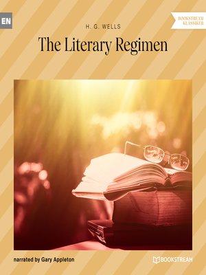 cover image of The Literary Regimen