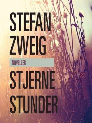 cover image of Stjernestunder