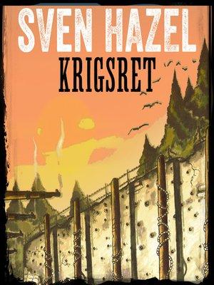 cover image of Krigsret--Sven Hazels krigsromaner 12
