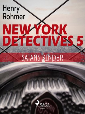cover image of Satans Kinder--New York Detectives 5