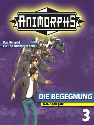 cover image of Animorphs, Folge 3