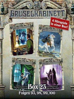cover image of Gruselkabinett, Box 25