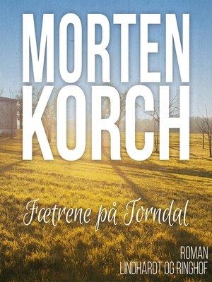 cover image of Faetrene på Torndal