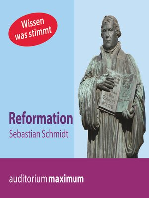 cover image of Reformation