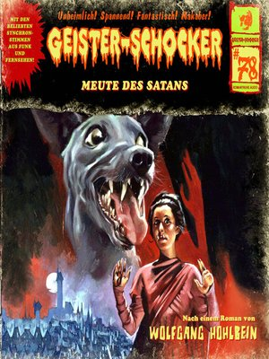 cover image of Geister-Schocker, Folge 78