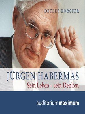 cover image of Jürgen Habermas