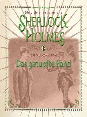 cover image of Sherlock Holmes, Das getupfte Band