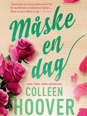 cover image of Måske en dag