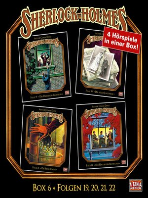 cover image of Sherlock Holmes--Die geheimen Fälle des Meisterdetektivs, Box 6