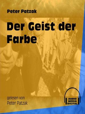 cover image of Der Geist der Farbe