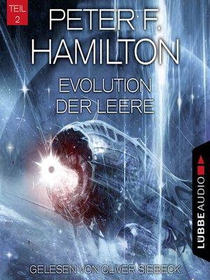 cover image of Evolution der Leere, Teil 2--Das dunkle Universum, Band 4