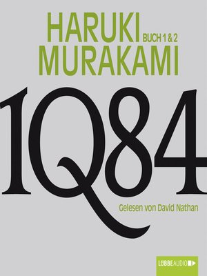 cover image of 1Q84 --Buch 1 & 2