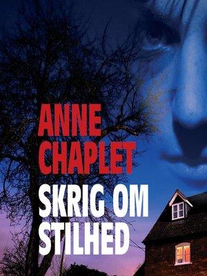 cover image of Skrig om stilhed