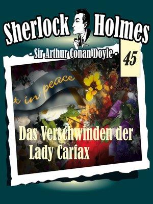 cover image of Sherlock Holmes, Die Originale, Fall 45