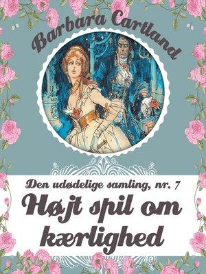 cover image of Den udødelige samling, bind 7