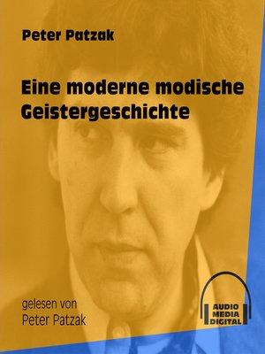 cover image of Eine moderne modische Geistergeschichte