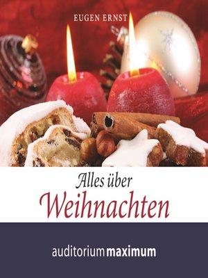 cover image of Alles über Weihnachten