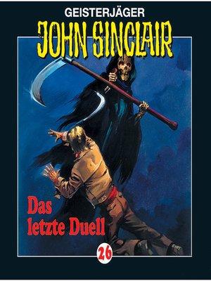 cover image of John Sinclair, Folge 26