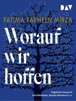 cover image of Worauf wir hoffen