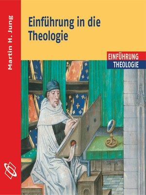 cover image of Einführung in die Theologie