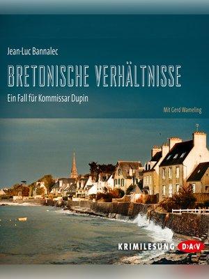 cover image of Bretonische Verhältnisse