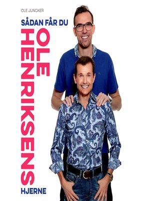 cover image of Sådan får du Ole Henriksens hjerne