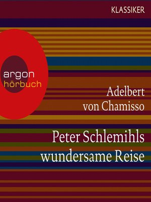 cover image of Peter Schlemihls wundersame Reise