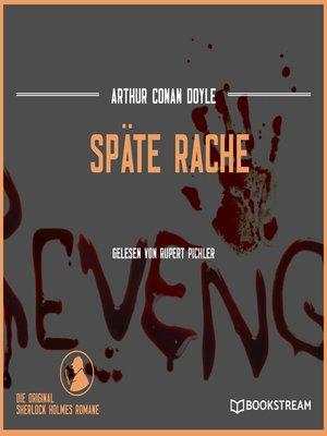 cover image of Späte Rache