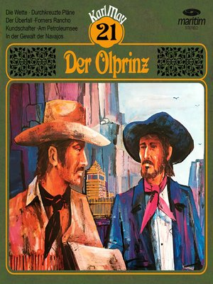 cover image of Karl May, Grüne Serie, Folge 21