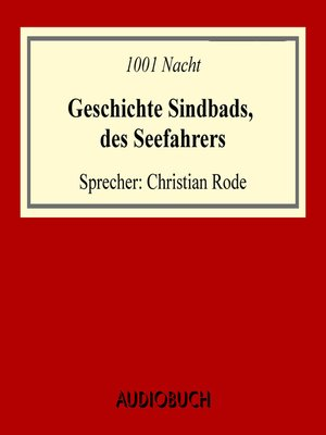 cover image of Geschichte Sindbads, des Seefahrers