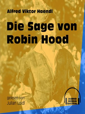 cover image of Die Sage von Robin Hood